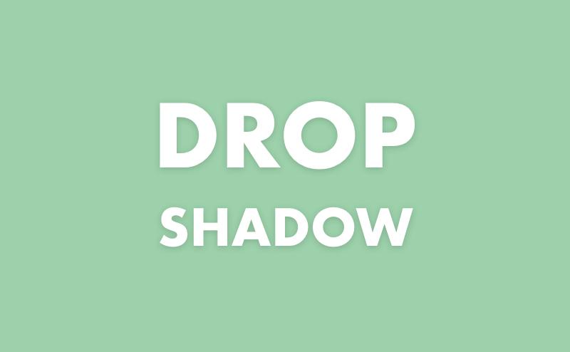 Photoshopのドロップシャドウで影をつける方法