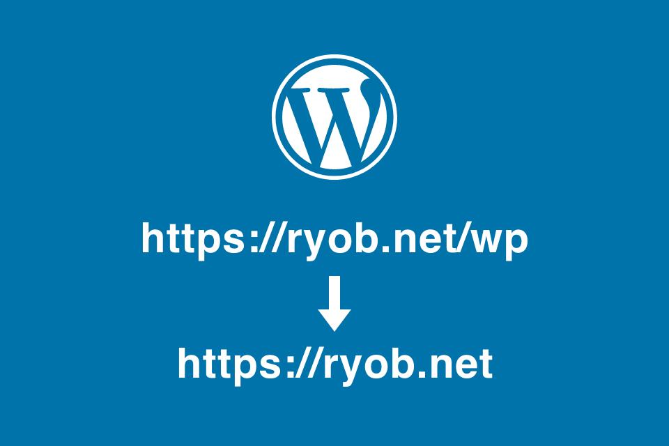 サブディレクトリにインストールしたWordPressの公開ディレクトリを移動する手順