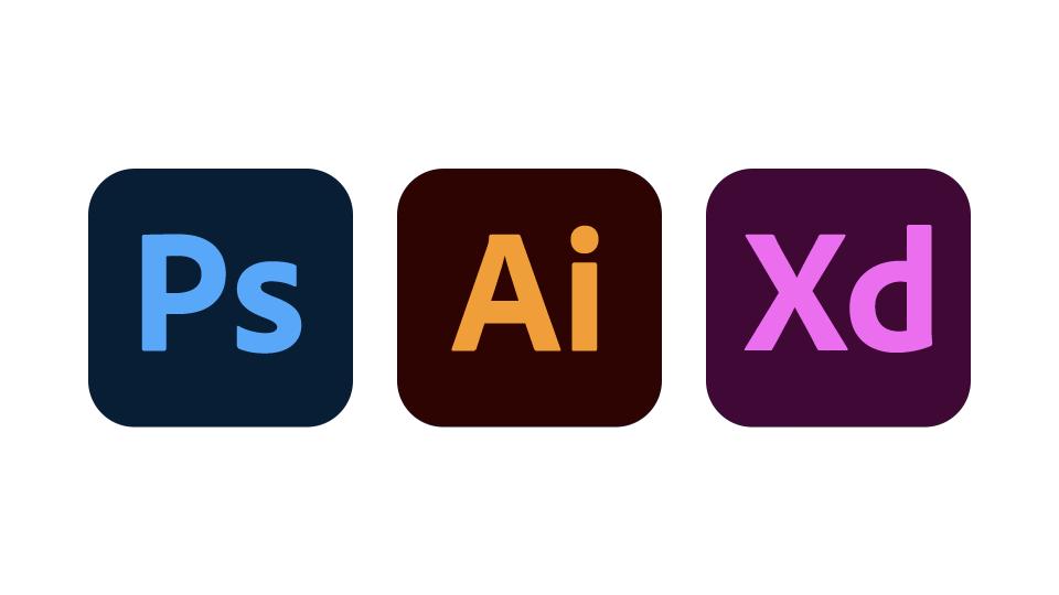 Photoshop、Illustrator、XDの新アイコン
