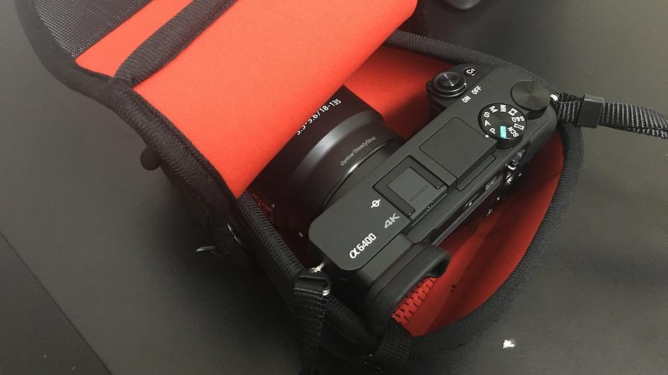 ハクバ ルフトデザイン スリムフィット カメラジャケット M-110